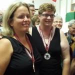 Lyne Pineault et Sylvianne Moisan