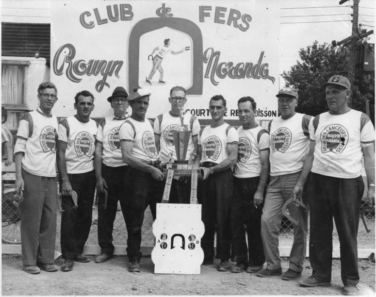 Championnat du Québec 1962 à Rouyn-Noranda