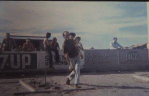 Fernand Dutremble en action dans les années 60.
