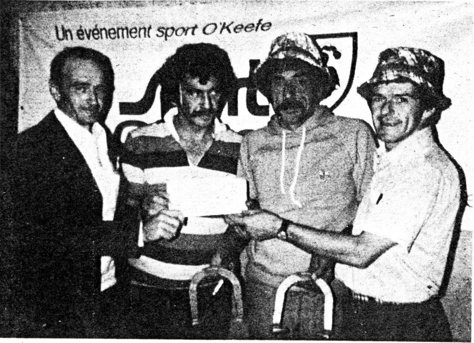 1976 - Tournoi provincial - Victo (Fernand & Serge)