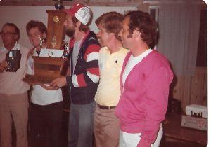 Championnat 1981 remporté par Louis Tardif.