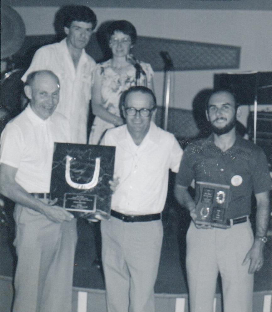 1981 - Championnat Canadien (Gérard, Claire, Jack Adams, Fernand Dutremble et Rick Lebel)