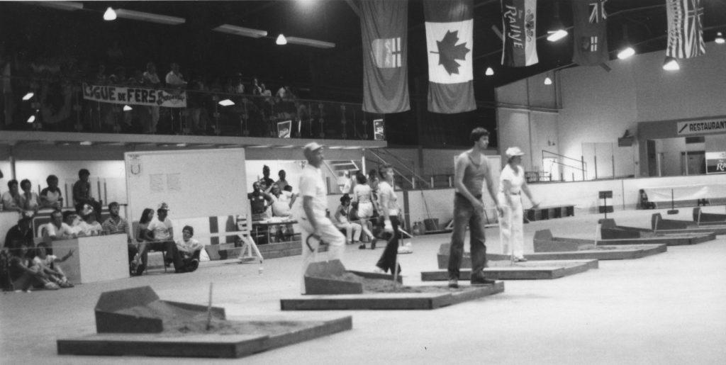 1981 - Championnat Canadien - action finales du A