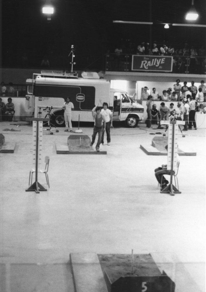 1981 - Championnat Canadien - action semi-finales du A