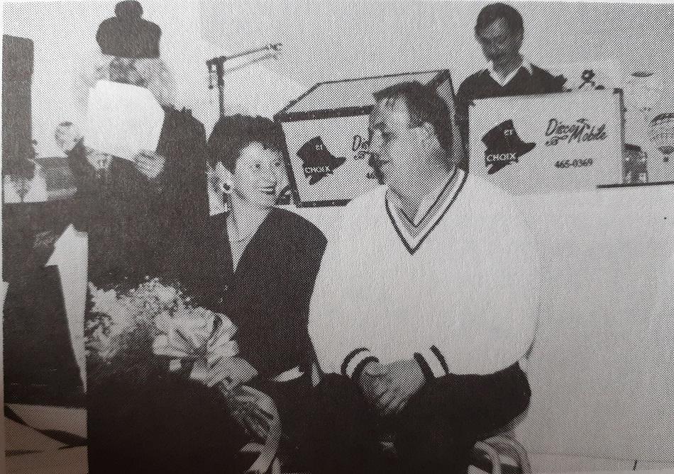 1991 - hommage à Richard à St-Luc