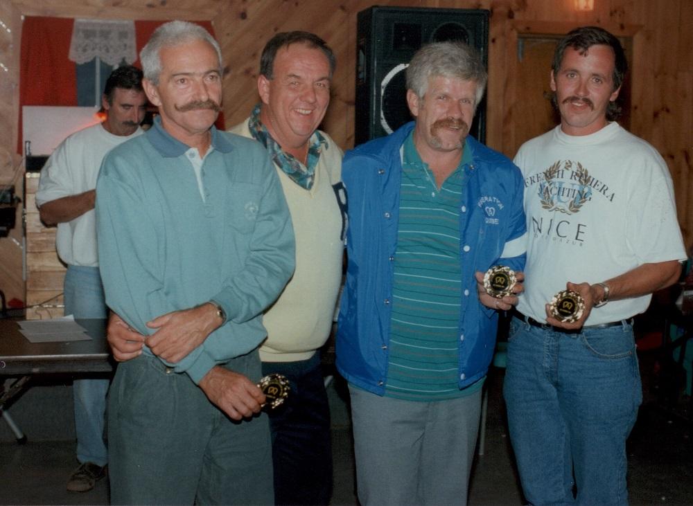 1993 - Soirée Méritas: Rosaire, Richard, René, Réginald