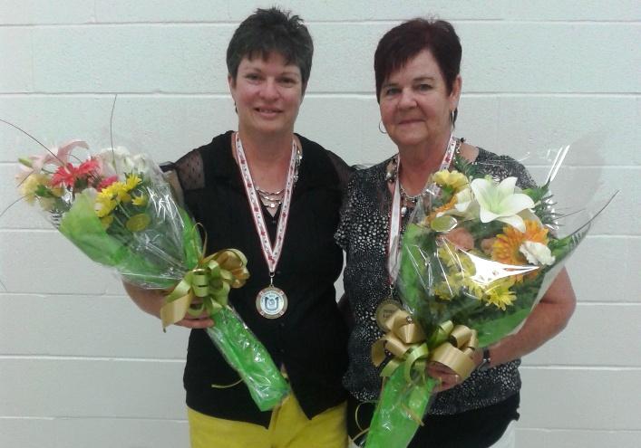 Sylvianne et Angéline Moisan, championnes canadiennes