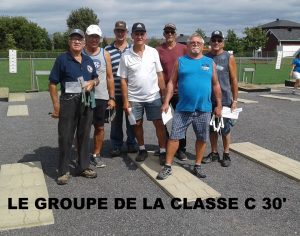 Groupe 30 pieds classe D