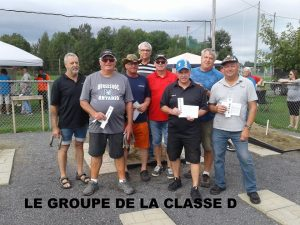 Groupe Classe D 40 pieds