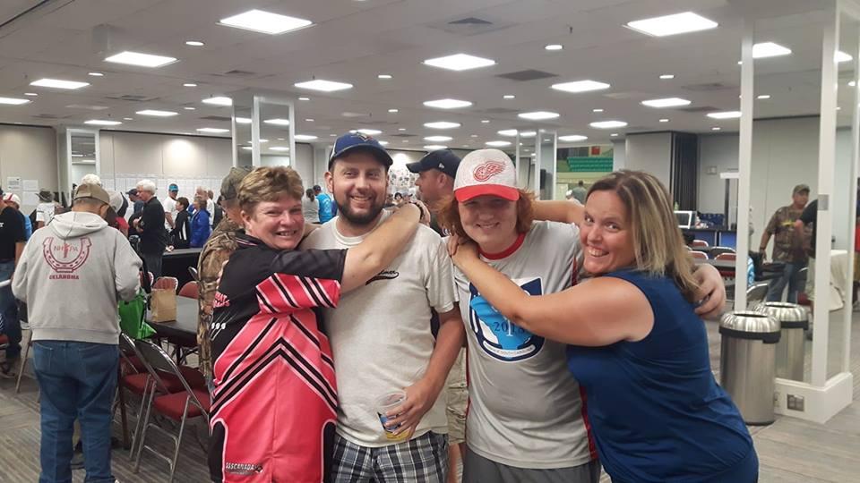 4 Canadiens dans les classes de Championnat: Sylvianne, Drew, Cédryk et Lyne.