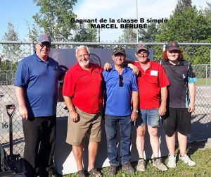 Blainville: Boursiers du B simple.