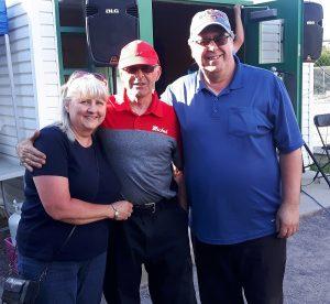 Blainville: Michel Forget et son épouse