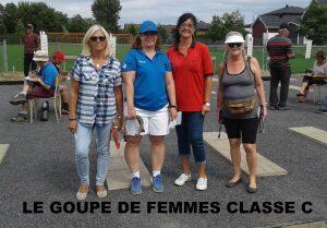 Groupe Femmes Classe C