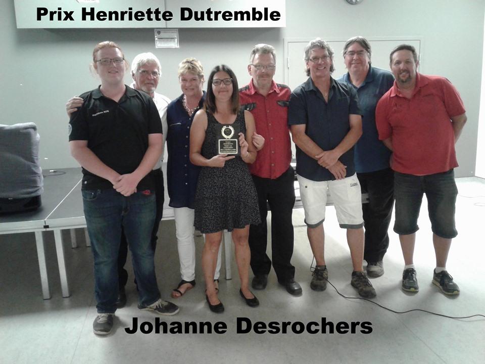 Prix Henriette-Dutremble: Johanne Desrochers