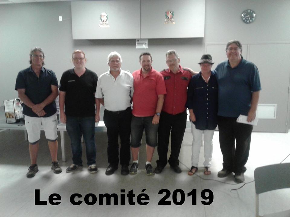 Le comité FCFQ 2019