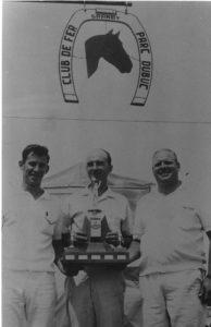 Fernand Thibeault (à g.), champion du Québec 1967