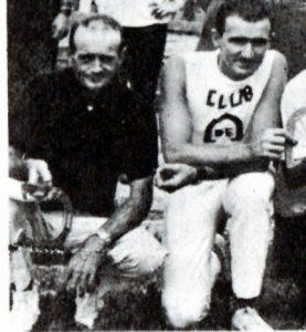 Fernand Dutremble parmi les directeurs provinciaux en 1967.