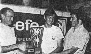Championnat Provincial 1973 à Victoriaville remporté par Gilles Joyal.