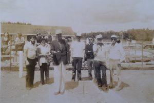 Vers 1976 au Lac St-Jean.