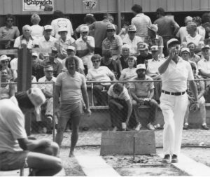 Championnat Canadien 1983 - Wellesley: Fernand vs Elmer Hohl.