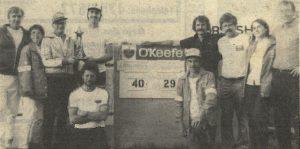 Tournoi de fers Blainville 1984 - finale sur glaise.