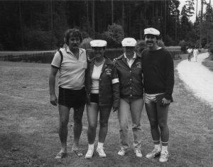 Championnat Canadien 1986 - Vancouver: 4 Québécois..