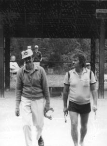 Championnat Canadien 1986 - Vancouver: Fernand et Matt Zablotney.
