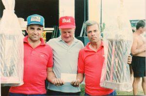 Championnat en Double 1989 avec Jean-Paul Noury et Roland Desrochers.