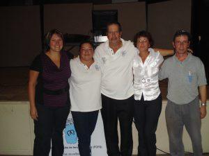 Le Conseil d'administration 2011: Mélanie, Lynda, Fernand, Josée et Michel.