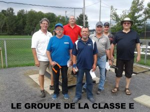 Groupe Classe E 40 pieds