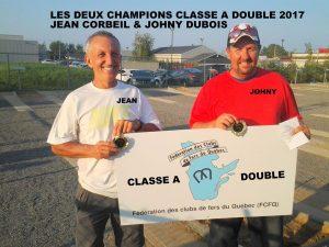 Champions 40 pieds A: Jean Corbeil & Johnny Dubois