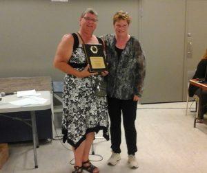 Membre par excellence féminin: Suzanne Desjardins.